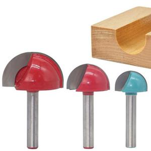 Fräser Core-Box Fräser Rundboden Rundkopf Holzverarbeitung Gravur Halbkreisförmige Cutter JDH88