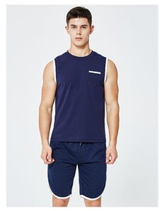 Mens-Sommer Einfacher Druck Tracksuits Natural Color Designer Anzüge Rundhalsausschnitt Ärmel beiläufige Oberseiten kurze Hosen Männer-Kleidung