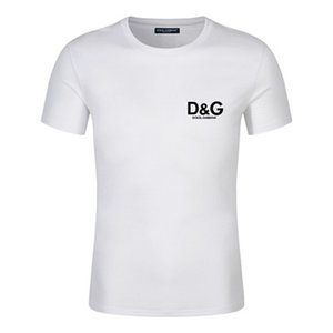 New 2020 brand watches Luxury Choker Mens Designer T Shirt High Quality Men Women Couples Casual Short Sleeve Mens Round Neck Tees 5 Colors
