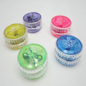 Erkekler Kızlar Çocuk Çocuklar için Dize Spinning ile 4 Renkler Magic Yoyo Duyarlı yüksek hızlı Alüminyum Alaşım Yoyo CNC Torna