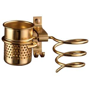 Asciugacapelli Rack con la Coppa Asciugacapelli Rack famiglie Saltare supporto in alluminio mensola del bagno Accessori