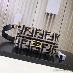 Heißer Verkaufs-neue Winter-Crossbodybag Frauen sacken Luxus Frauen Handtaschen-Geldbeutel-Entwerfer-Damen-Pelz-Schulter-Kurier-Beutel-F074