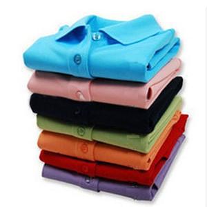 Весна Luxury Италия Мужчины T-Shirt Конструктор рубашки поло High Street Вышивка маленькая лошадь крокодил печати Одежда мужская марка поло w1