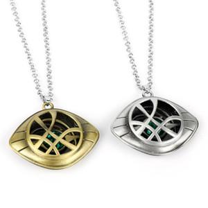 Doctor Extraño Collar Ojo de Agamotto vestuario Prop colgante de piedra collar de anillo de claves
