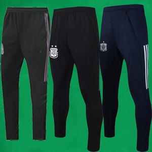 pantaloni della tuta da uomo 20 pantaloni 21 del Messico di calcio 2020 2021 pantaloni Argentina pista per adulti Jooggers Spagna pantaloni taglia S - XXL