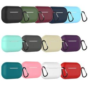 Ультра мягкий силиконовый защитный чехол для наушников чехол для Apple Airpods Pro Air Pods 3 Airpodspro комплект наушников аксессуары