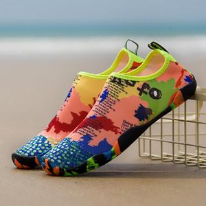 Плавание вода Аква обувь быстросохнущая пляж кемпинг Аква обувь Приморские тапочки серфинг вверх по течению нескользящие кроссовки нескользящие