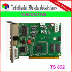 Toptan TS802 rgb tam renkli senkron led ekran denetleyicisi / linsn kart gönderme
