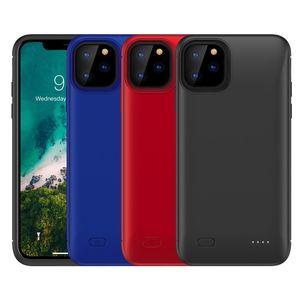 Kapak Yedekleme Şarj iPhone XR 8 Plus Dış Geri Paketi Davaları Şarj İnce Pil Şarj Kılıf iPhone için 11 Pro X XS Max Güç Bankası