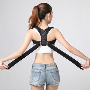 Регулируемый корректор осанки задняя поддержка плеча правильный пояс скобки Мужчины Женщины брекеты поддерживает спину плечо коррекция осанки KKA7789
