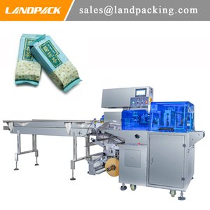 Tray Scented Tea 600MM Flow Wrap Machine Large Automatic Horizontal Packaging Machine