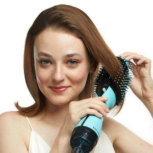 حار الكهربائية فرشاة الهواء ماجيك خطوة واحدة 4IN1 مجفف شعر الطراز متعدد الوظائف استقامة مجعد الشعر مشط لأنواع الشعر جميع