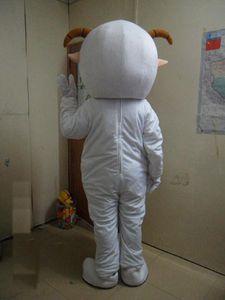Оптово-Высокое качество горячего Приятное Sheep мультфильма куклы костюм талисмана Свободная перевозка груза