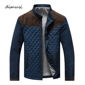 DIMUSI autunno Mens Casual Jacket Mens Slim Fit Giacca a vento Giacche modo maschio Streetwear Anorak baseball Giacche 5XLMX190926
