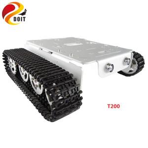 Robô RC Crawler Chassis Tanque Do Carro para arduino Rastreado Caterpillar Rastrear Cadeia Veículo Móvel Plataforma Tractor DIY Brinquedo RC