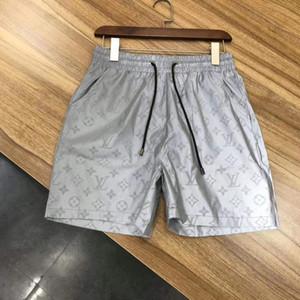 19 старших дизайнерских шорт летние плавки + пляжные брюки мужские брюки с набивным рисунком мужские быстросохнущие ткани плавки M-3XL