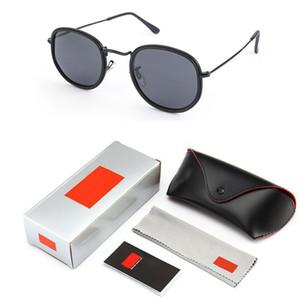 Polarize HD Retro güneş gözlüğü erkek Tasarımcı Güneş Sürüş paketleme ile Erkekler Güneş Gözlükleri gözlük 2019 marka güneş gözlüğü kadınlar