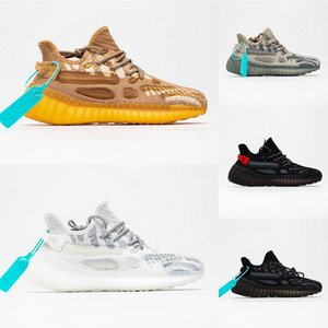 2020 New V3 étoile Chain Reaction Kanye West Stylist Sneakers Reflective Mens Wave Trainers Gid Glow Dark Sport Running Shoes