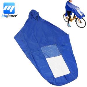 Bule / Kırmızı Motosiklet Scooter Yağmurluk Kapak Windproof PVC Motosiklet Bisiklet Rider Yağmur Coat Kapaklar Su geçirmez