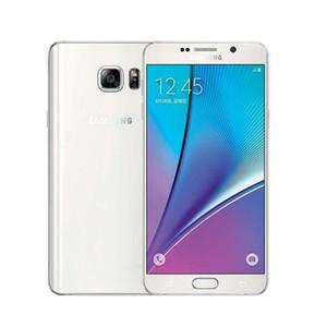 Оригинальный Samsung Galaxy Note Note5 5 N920A N920T N920F 4GB / 32GB 5.7inch смартфон WIFI GPS Bluetooth Камера Восстановленное разблокирована Mobilphone
