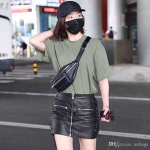 High-end classic hot-selling unisex fannypack designer waist bag fashion trend street style zip decoration closed mouth multiple back method
