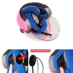 Interfono per casco Cuffia per moto Altoparlante Bluetooth wireless per MP3 MP4 Auricolare Bluetooth 4.1 Wireless per musica