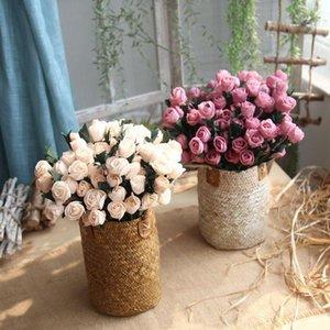 10 шт./лот PE Тюльпан искусственные цветы для партии декор Тюльпан поддельные Цветы для свадьбы украшения DIY Главная декоративные цветы