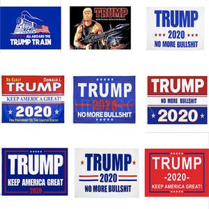 90 * 150cm Donald Trump Bayraklar 2020 Trump Tut Make Amerika Büyük Bayrak 11 Stiller Trump Tren Parti Banner Bayraklar IIA228