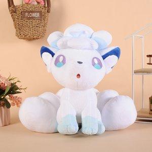 28cm Hot Sun Moon Alola Vulpix Sechs Tails Plüsch-Spielzeug-Ice-System Puppe Geschenk New
