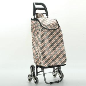 Büyük Yükleme kapasitesi Katlama Arabası Alışveriş Sepeti Hafif, Groceries 871680 için Tekerlekler ve Merdiven Dağcı ile su geçirmez Sepeti