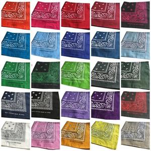 heiße 55 * 55cm Neuheit Doppeldruck Hip Hop Bandanas Magie Kopftuch Einstecktücher Druck-Kopf-Verpackungs-Schal-Partei-Bevorzugung T2I51140