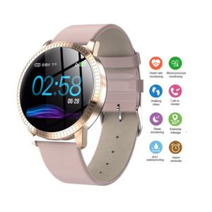Schermo CF18 Smart Colour Wristband 1,3 pollici grande schermo impermeabile Monitoraggio dello sport della vigilanza SmartWatch donne della fascia