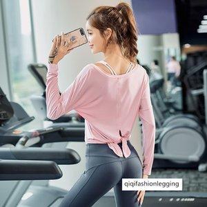 Season Slim Fit Breathable Running Sports Top Women's Wear Running Speed Dry Training Clothing Yoga Long Sleeve T Shirt Yoga Clothing