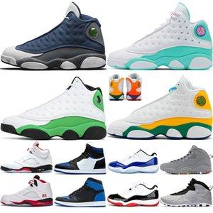 Air Jordan Retro 13 Designer-Herren-Basketballschuhe 10 Tinker Cement 10s Herrenschuhe Cool Grey I'm Back chicage Powder Blue Sportschuhe Turnschuhgröße 7-13