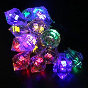 Elmas Güneş Dize Işıkları 20LED Romantik Düğün Noel Doğum Günü Tatil Odası Avlu Dekoratif LED Işıkları 1 adet