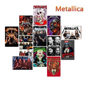 Rock Band signes étain métal affiches vintage vieux mur Plaque métal club mur Accueil métal art Peinture murale décor Art déco de fête Photo FFA2804