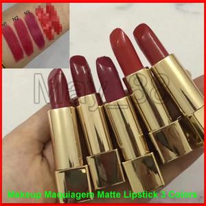 2020 famosos cosméticos de maquiagem Maquiagem Matte Lipstick 3 cores N1 N2 N3 e um lèvre Lip Gloss Lipgloss maquillage Kit Fast Shipping
