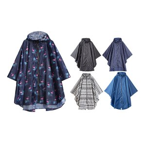 Impermeable Moda de Mujeres Freesmily impermeable poncho de lluvia Capa con capucha para Escalada y Senderismo CX200629 Touring