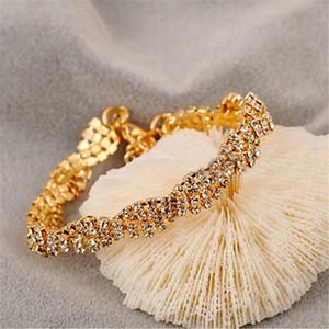 New hot sale transparent crystal zircon bracelet ladies bracelet party wedding popular accessories fashion accessories wholesale