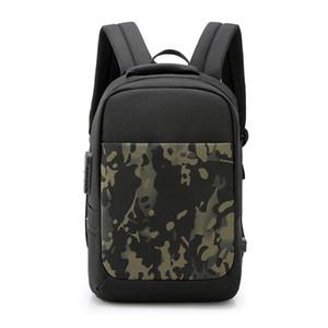 Designer-College Backpack Resistente à água bolsa de ombro para as Mulheres Homens viagem mochila casual com Porta USB e Bloqueio de 15,6 polegadas