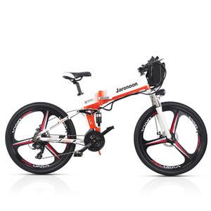 21 Velocità Bicicletta pieghevole 48V 12.8A Li-on della batteria 26 pollici bici di montagna elettrica doppia della sospensione, di controllo LCD 5 Pedal Assist M80