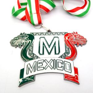 Mode classique personnalisable médaille collier pour hommes mexico fabricants de collier de baseball expédition rapide