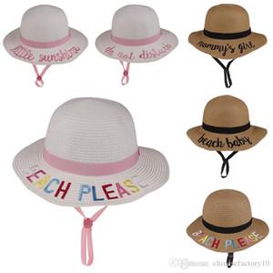 Çocuklar Kova Şapka Güneş Şapka Kelime Strawhat Sunhat Balıkçılık Kapaklar Bebek Balıkçı Karikatür Çocuklar Plaj Havzası