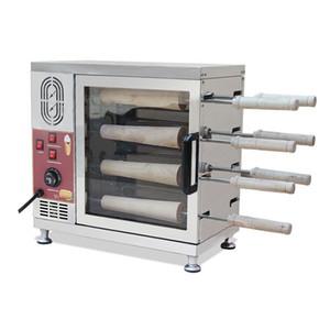 La nueva tapa de la torta chimenea calidad Kürtös máquina kalacs horno pastel de chimenea máquina de pan horneado máquina chimenea