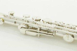 Neue Perle Pf -665e Flöte 16 Löcher geschlossen Kupfer-Nickel-Silber überzog Qualitäts-Musikinstrument C Tune Flöte mit Koffer und Zubehör