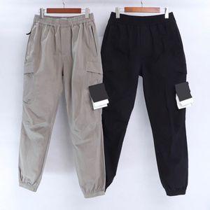 Çoklu Pocket tulum erkekler koşu Tayt erkek moda Retro CP topstoney KORSAN ŞİRKET konng gonng İlkbahar ve yaz yeni moda markası