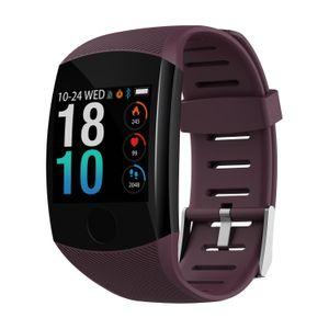 Q11 Смарт-Часы Водонепроницаемый Фитнес-Браслет Большой Пресс-Экран Сообщение Напомнить Сердечного Ритма Smartband Активности Трекер Браслет Монитор Сна