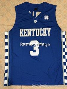 # 3 Hamidou Diallo Kentucky Wildcats College Basketball Jersey Todos Tamanho bordado costurado Personalizar qualquer nome XS-6XL colete Jerseys Ncaa
