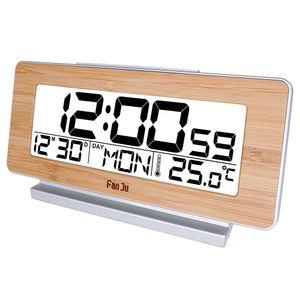 FanJu FJ3523 Despertador Digital LED Eletrônico Alarme e temperatura