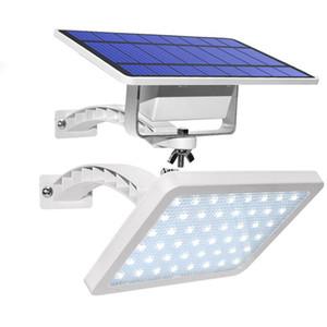 New Solar Garden Light 48leds IP65 Integrate solaire Split Éclairage public réglable Angle extérieur solaire Lumière de mur